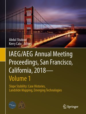 cover image of IAEG/AEG Annual Meeting Proceedings, San Francisco, California, 2018--Volume 1