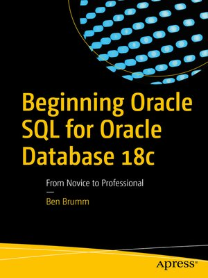 cover image of Beginning Oracle SQL for Oracle Database 18c