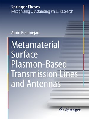 cover image of Metamaterial Surface Plasmon-Based Transmission Lines and Antennas