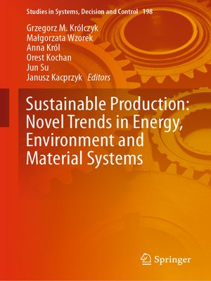 cover image of Sustainable Production