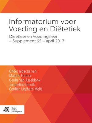 cover image of Informatorium voor Voeding en Diëtetiek