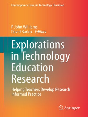 cover image of Explorations in Technology Education Research