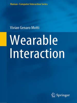 cover image of Wearable Interaction