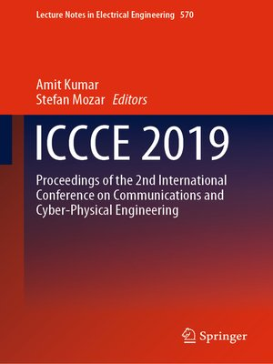 cover image of ICCCE 2019