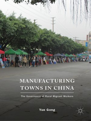 cover image of Manufacturing Towns in China