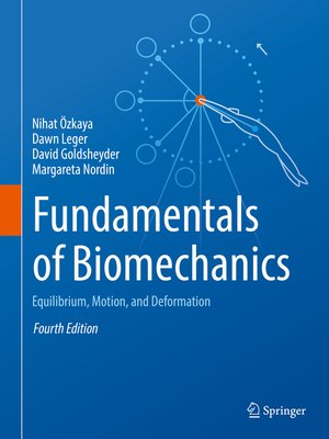 cover image of Fundamentals of Biomechanics