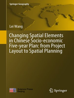 cover image of Changing Spatial Elements in Chinese Socio-economic Five-year Plan