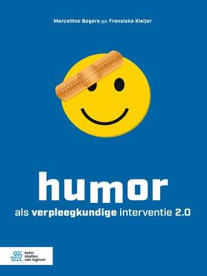 cover image of Humor als verpleegkundige interventie 2.0