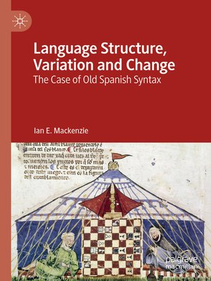 cover image of Language Structure, Variation and Change