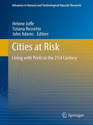cover image of Cities at Risk