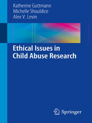 cover image of Ethical Issues in Child Abuse Research