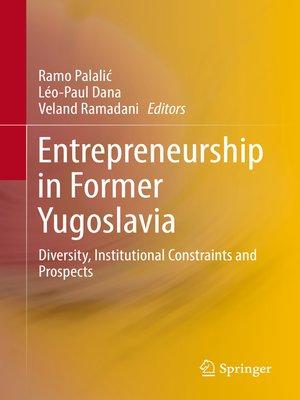 cover image of Entrepreneurship in Former Yugoslavia