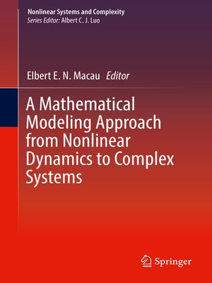 cover image of A Mathematical Modeling Approach from Nonlinear Dynamics to Complex Systems