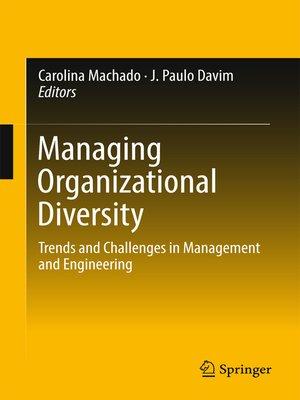 cover image of Managing Organizational Diversity