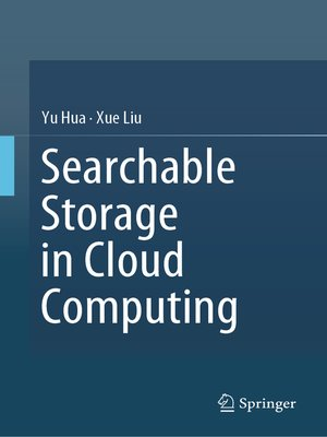 cover image of Searchable Storage in Cloud Computing