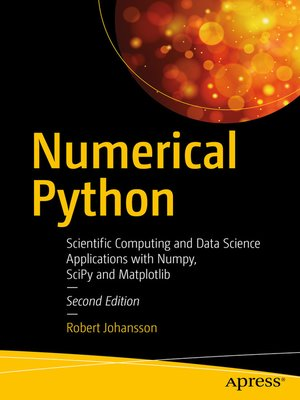 cover image of Numerical Python