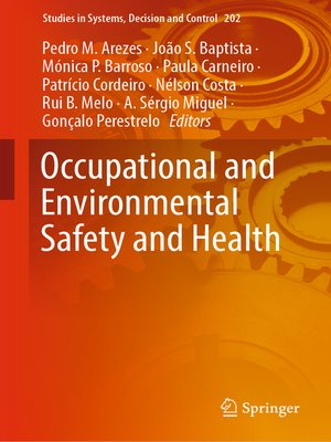 cover image of Occupational and Environmental Safety and Health