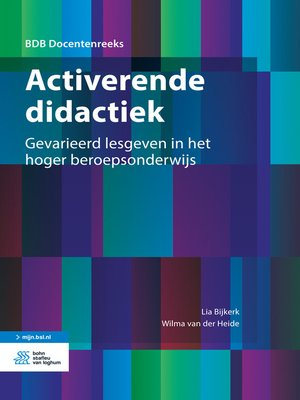 cover image of Activerende didactiek