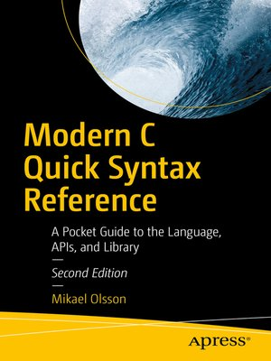 cover image of Modern C Quick Syntax Reference