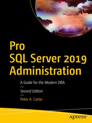 cover image of Pro SQL Server 2019 Administration