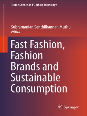 cover image of Fast Fashion, Fashion Brands and Sustainable Consumption