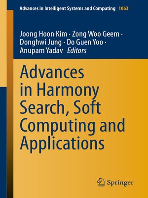 cover image of Advances in Harmony Search, Soft Computing and Applications