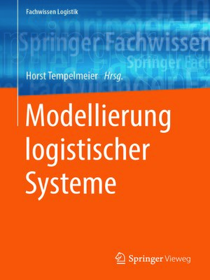 cover image of Modellierung logistischer Systeme