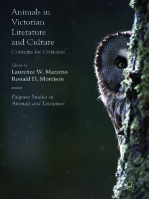 cover image of Animals in Victorian Literature and Culture