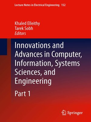cover image of Innovations and Advances in Computer, Information, Systems Sciences, and Engineering