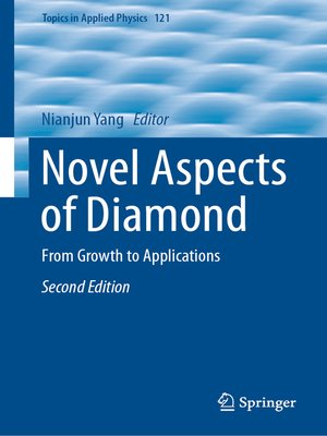 cover image of Novel Aspects of Diamond