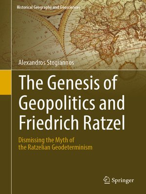 cover image of The Genesis of Geopolitics and Friedrich Ratzel