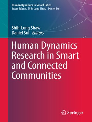 cover image of Human Dynamics Research in Smart and Connected Communities