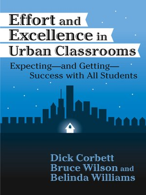 cover image of Effort and Excellence in Urban Classrooms