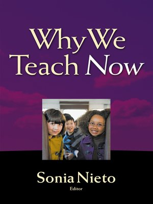 cover image of Why We Teach Now