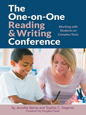 cover image of The One-on-One Reading and Writing Conference