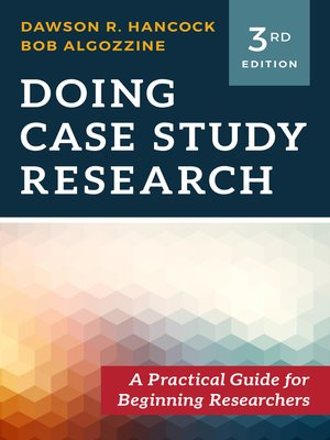cover image of Doing Case Study Research