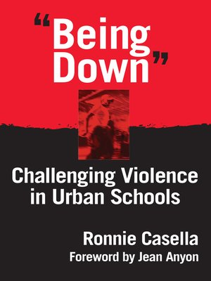 "cover image of ""Being Down"""