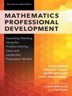 cover image of Mathematics Professional Development