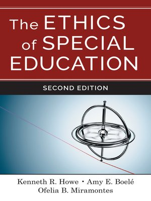 cover image of The Ethics of Special Education