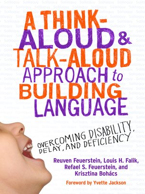 cover image of A Think-Aloud and Talk-Aloud Approach to Building Language