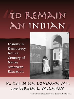 "cover image of ""To Remain an Indian"""