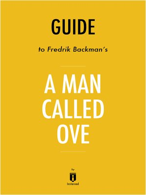 cover image of Guide to Fredrik Backman's A Man Called Ove by Instaread