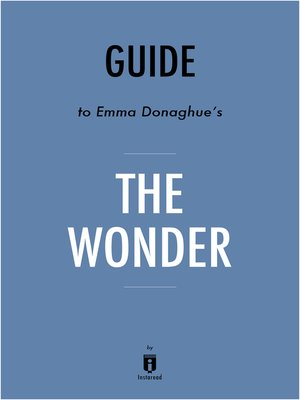 cover image of Guide to Emma Donoghue's The Wonder by Instaread