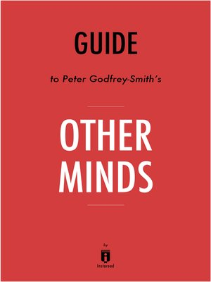 cover image of Guide to Peter Godfrey-Smith's Other Minds by Instaread