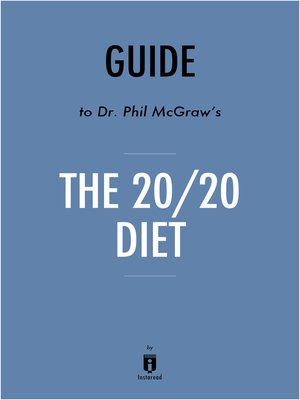 cover image of Guide to Dr. Phil McGraw's The 20/20 Diet by Instaread