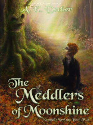cover image of The Meddlers of Moonshine