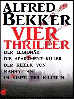 cover image of Vier Alfred Bekker Thriller
