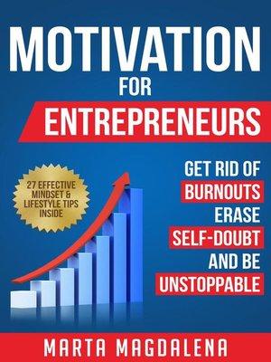 cover image of Motivation for Entrepreneurs