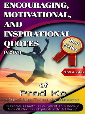 cover image of Encouraging, Motivational and Inspirational Quotes