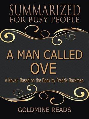 cover image of A Man Called Ove--Summarized for Busy People